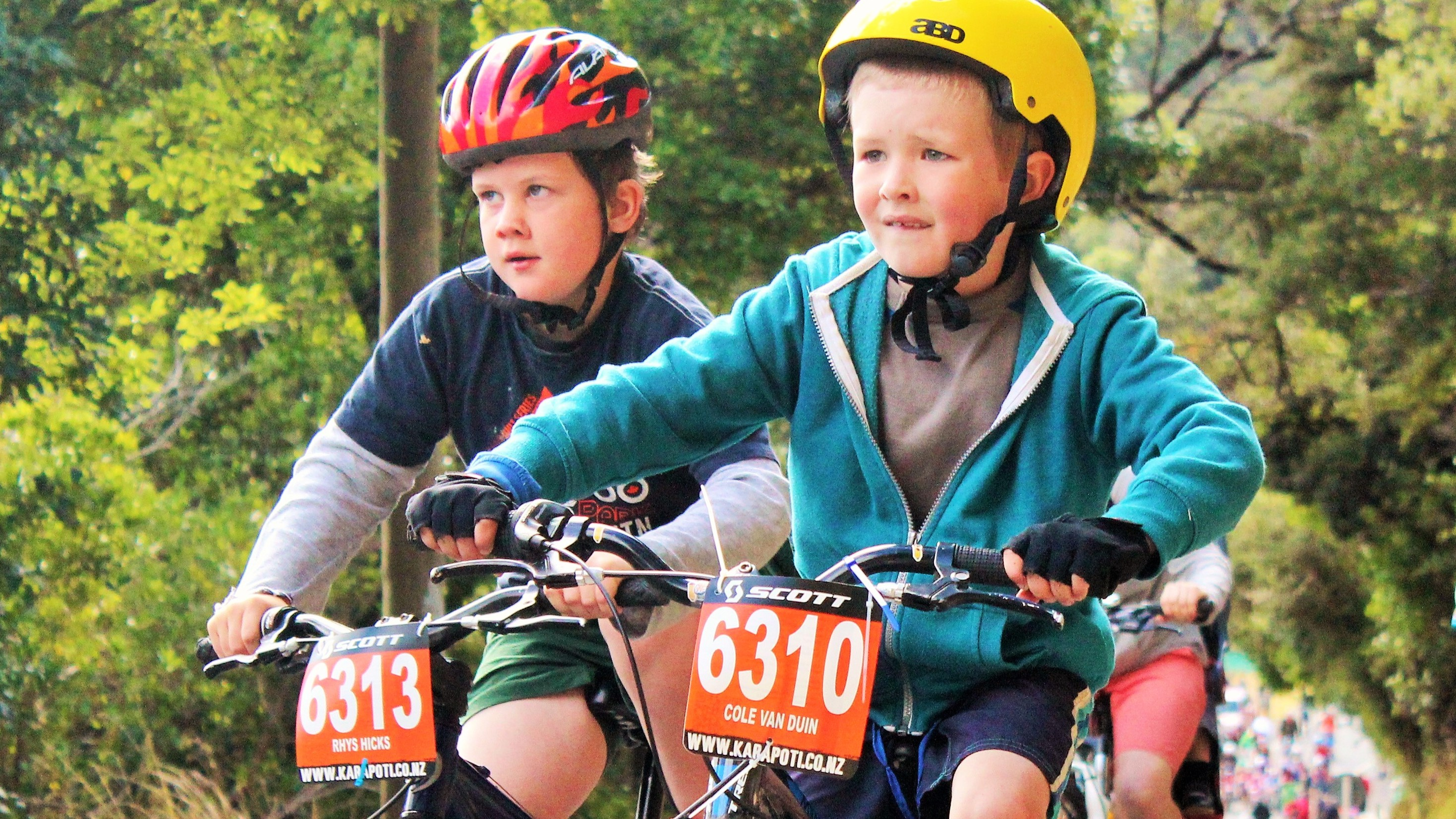 Tomorrow's mtb'ers today in the Kids Klassic